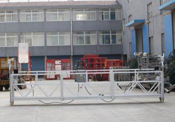 Фасадный подъёмник-люлька ZLP-800, длина корзины 1 м