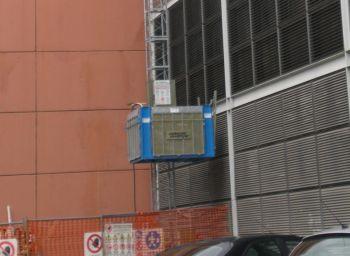 Грузовой строительный подъемник МТ-1000, высота подъема до 30 м -