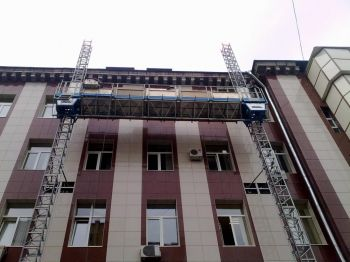 Фасадная рабочая платформа Т-30 биколонна, высота подъема до 30 м