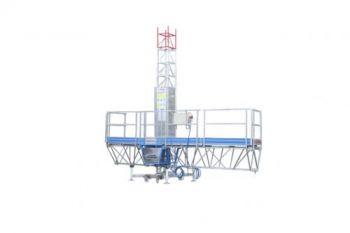 Грузовая рабочая платформа Т-30 моноколонна, высота подъема до 30 м -