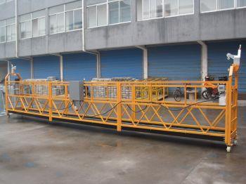 Строительная люлька для фасадных работ ZLP-630, длина корзины 1 м