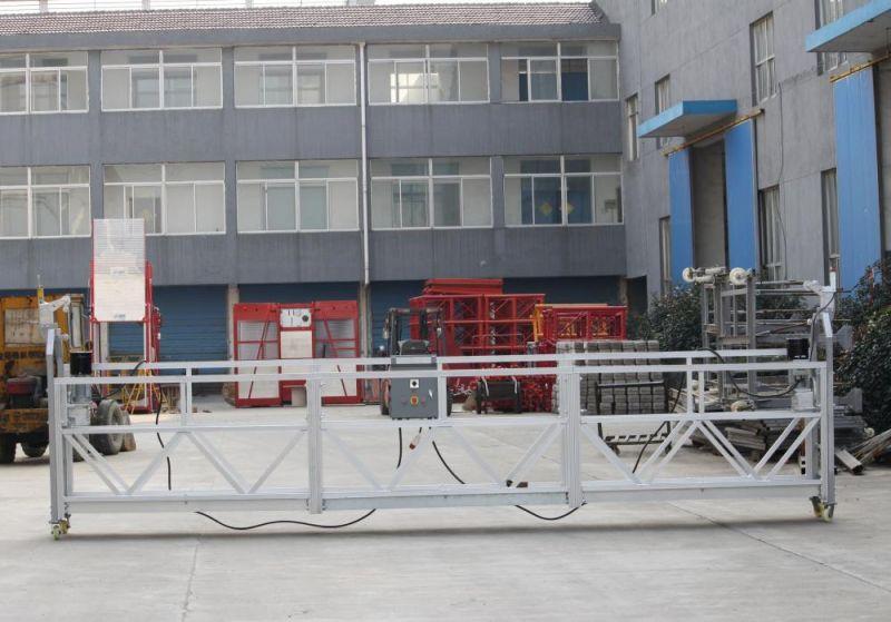 Люлька для строительных работ ZLP-800, длина корзины 6 м