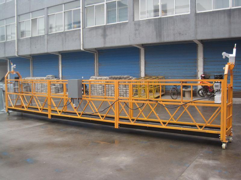Фасадная люлька для работ на высоте ZLP-630, длина корзины 1,5 м