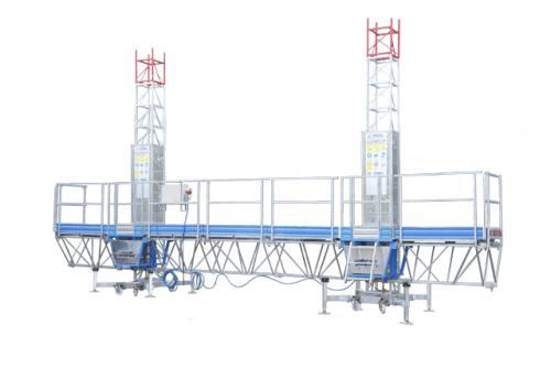 Фасадная рабочая платформа Т-30 биколонна, высота подъема до 30 м  - 1