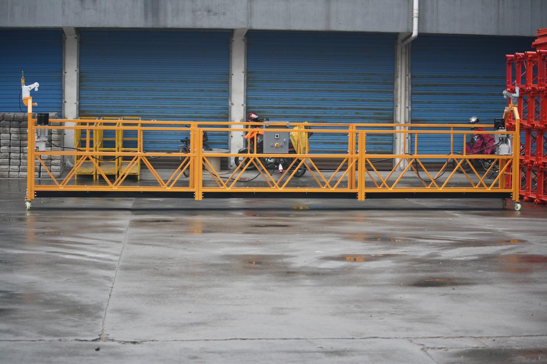 Фасадная люлька для работ на высоте ZLP-630, длина корзины 1,5 м - 3